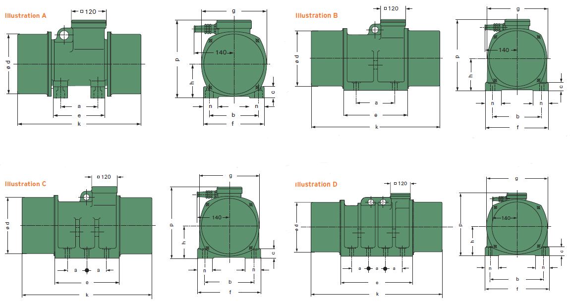 friedreich standard f type 6- hz
